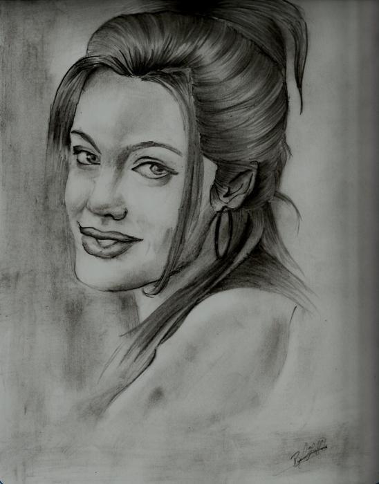 Angelina Jolie by melogb07